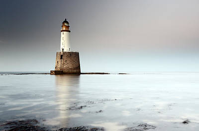 Rattray Head Lighthouse  Print by Grant Glendinning