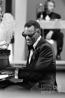Ray Charles Print by Terry O'Neill