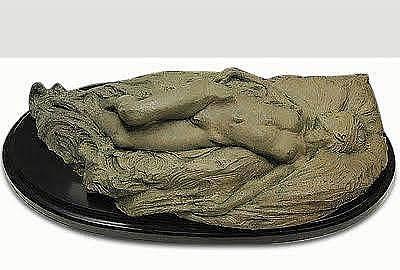 Richard Macdonald Sculpture - Reclining Nude by Richard MacDonald