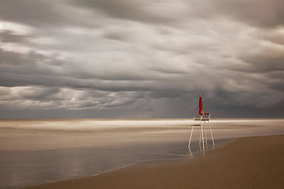Beach Photograph - Red by Massimo Della Latta