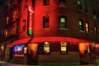 Regina Pizza - North End Boston Print by Joann Vitali