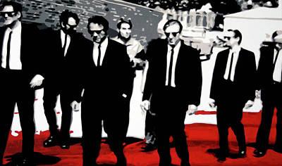 Reservoir Dogs Print by Luis Ludzska