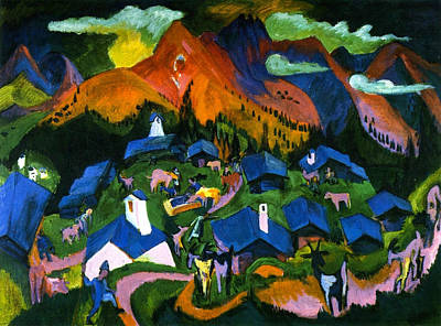 Expressionist Painting - Return Of The Animals by Ernst Ludwig Kirchner