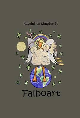 Revelation Chapter 10 Print by Anthony Falbo