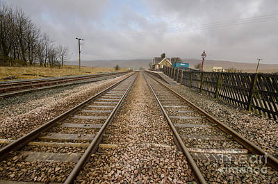 Viaduct Photograph - Ribblehead Station by Stephen Smith