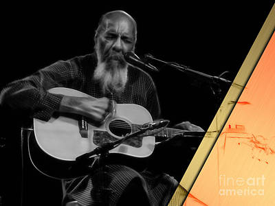 Richie Havens Collection Print by Marvin Blaine