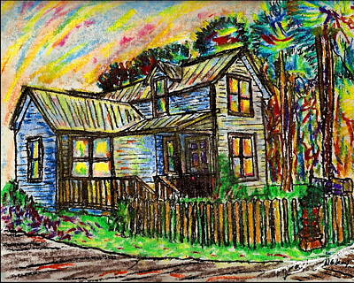 Key West Painting - River House by W Gilroy