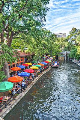Texas Cities Photograph - Riverwalk San Antonio by Tod and Cynthia Grubbs