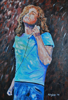 Robert Plant Original by Stanton Allaben