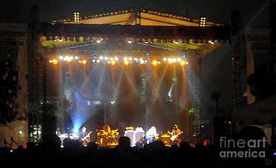 Music Digital Art - Rock Concert by David Lee Thompson