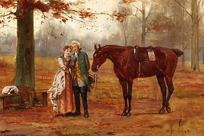 Romance  Print by George Goodwin