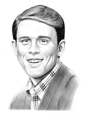 Andy Griffith Show Drawing - Ron Howard by Murphy Elliott