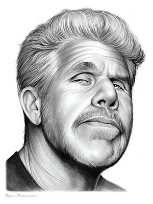 Ron Perlman Original by Greg Joens