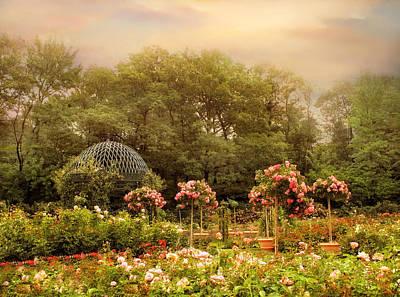 Rose Garden Print by Jessica Jenney
