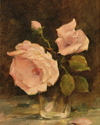 Impressionism Painting - Roses by Tigran Ghulyan