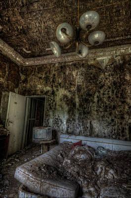 Haunted Digital Art - Rotten Sleep by Nathan Wright