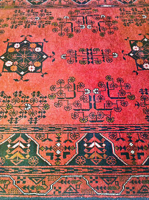 Byzantine Photograph - Rug Pattern by Tom Gowanlock