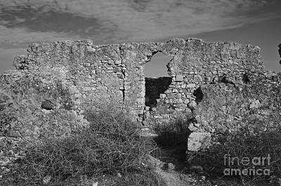 Castle Photograph - Ruins Of Rato Fort In Tavira by Angelo DeVal