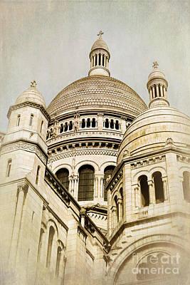 Sacre Coeur Photograph - Sacre Coeur Sepia by Jane Rix