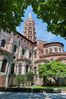 Ornate Photograph - Saint Sernin Basilica by Elena Elisseeva