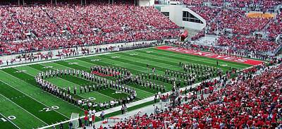 Sport Photograph - Script Ohio by Peter  McIntosh