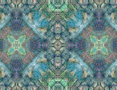 Abstract Seascape Mixed Media - Seascape II by Maria Watt