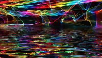 R.i.p Mixed Media - Seascapes Of Hope - Sri Yantra by Sir Josef Social Critic - ART
