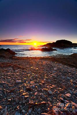 Fleurieu Peninsula Photograph - Second Valley Sunset by Bill  Robinson