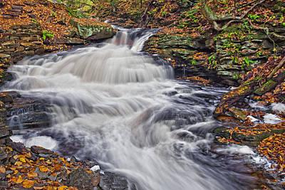Calm Photograph - Seneca Waterfall by Marcia Colelli