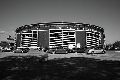 New York Baseball Parks Photograph - Shea Stadium - New York Mets by Frank Romeo