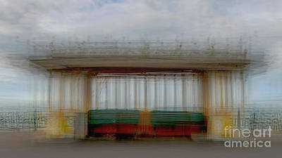 Icm Photograph - Shelter by Richard Thomas