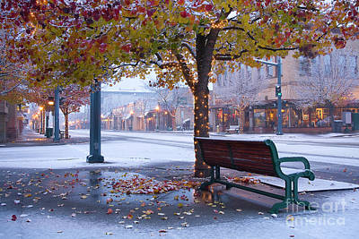 Storefront Photograph - Sherman Snow by Idaho Scenic Images Linda Lantzy
