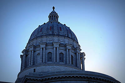 Show-me State Capitol Print by Cricket Hackmann