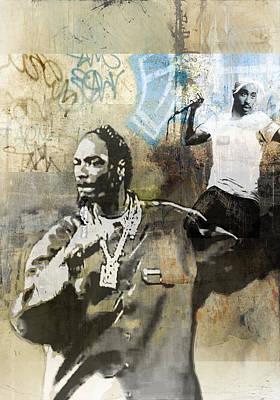 Singer Painting - Snoop Graffitti  40 by Jani Heinonen