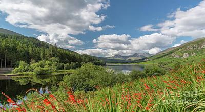 Canoe Photograph - Snowdonia Lake by Adrian Evans