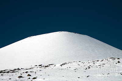 Snowy Mauna Kea Print by Peter French - Printscapes