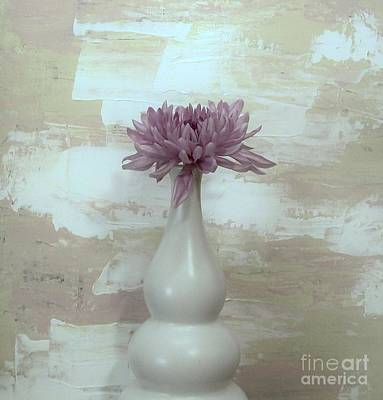 Mums Mixed Media - Soft And Sweet by Marsha Heiken