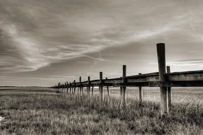 Vanish Photograph - Sol Legare Dock by Dustin K Ryan