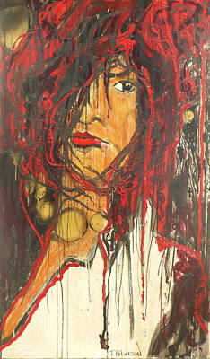 Bukowski Painting - Solitude by Todd  Peterson