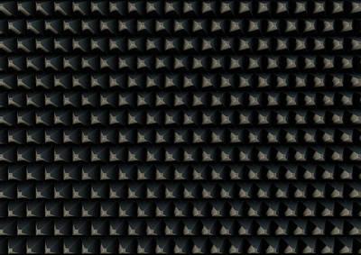 Cubicle Digital Art - Sound Proof Foam by Allan Swart