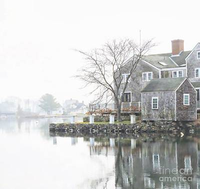 South Mill Pond Print by Marcia Lee Jones