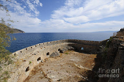 Greek Photograph - Spinalonga by Stephen Smith