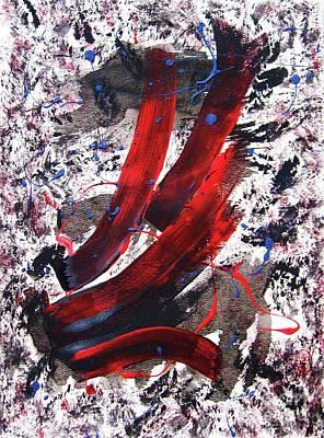 Atom Mixed Media - Splitting The Atom by Roberto Prusso