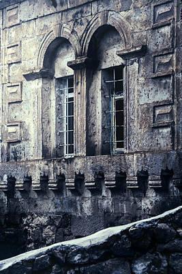 Lattice Photograph - Spooky House by Joana Kruse