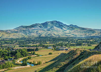 Squaw Butte Print by Robert Bales