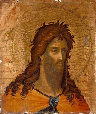 Paolo Veneziano Painting - St John The Baptist by Paolo Veneziano