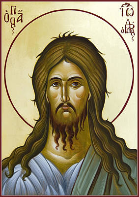 Painting - St John The Forerunner by Julia Bridget Hayes