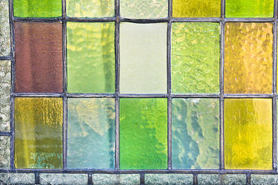 Stained Glass Print by Tom Gowanlock