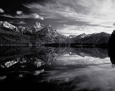 Idaho Photograph - Stanley Lake by Leland D Howard
