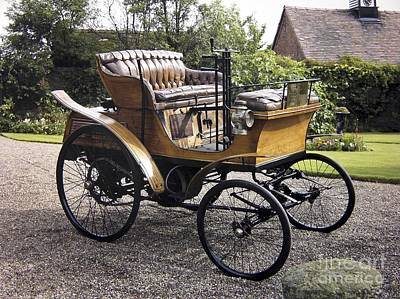 Star Motor Car, 1899 Print by Tony Craddock